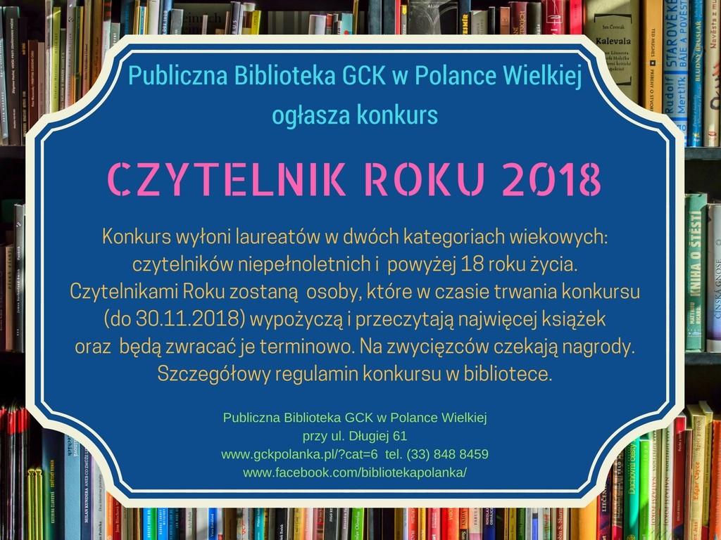 Czytelnik Roku konkurs