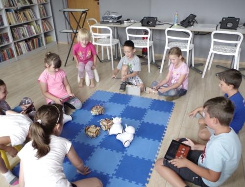 Mundial robotów w bibliotece