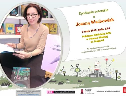 Spotkanie autorskie z Joanną Wachowiak