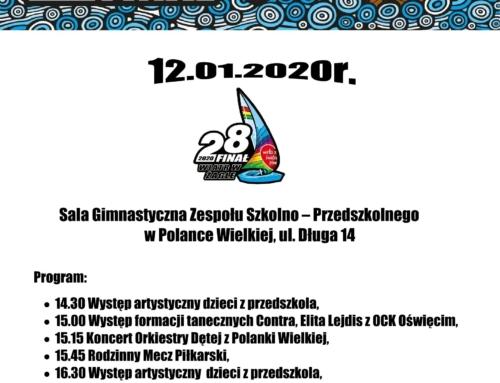WOŚP 2020 w Polance Wielkiej