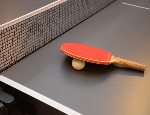 """Turniej tenisa stołowego ,,Aktywnie w Dolinie Karpia"""""""