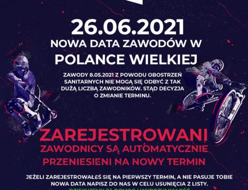 Zawody na pumptracku w Polance Wielkiej – zmiana terminu!